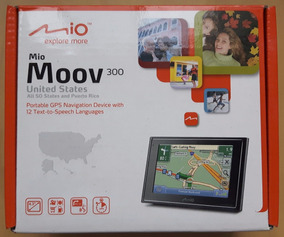 Gps Portátil Mio Moov 300 - Brasil - Eua - Europa
