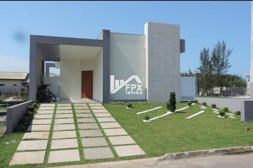 Imagem 1 de 14 de Casa Com Piscina Em Itanhaém, Frente Ao Mar Ca183-f