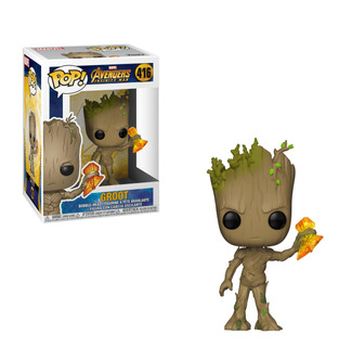 Figura Funko Pop Marvel Infinity War S2- Groot W/ Stormbreak