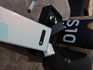 Samsung S10 De 128gb - Bem Zerado Com 2 Capas