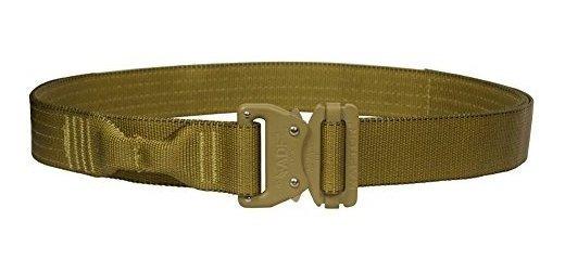 Fusion Tactical Policía Militar Riggers Cinturón Coyote Brow