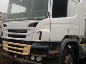 Scania P410 2016,choque Leve,afecto Campana De Caja Y