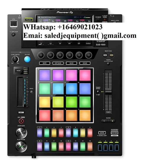 Smart Pioneer Djs-1000 Performance Dj Sampler Ems