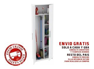 Escobero Despensero Maxi 2 Puertas Centro Estant Dis6bl Envio Gratis Solo A Caba Y Gba