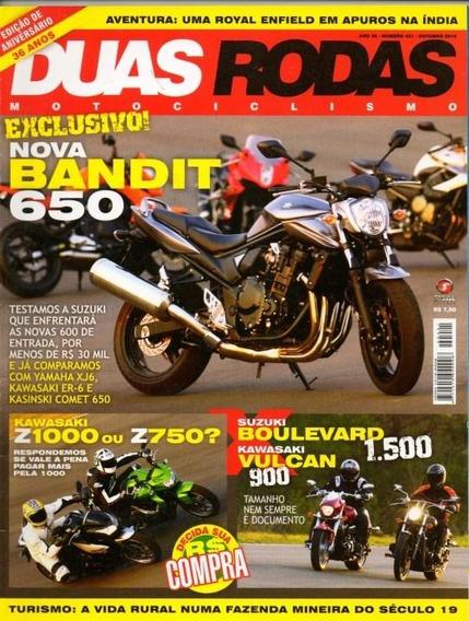 Duas Rodas N°421 Bandit 650 Kawasaki Z1000 Z750 Vulcan 900