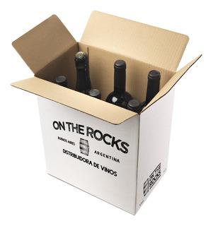 Caja Degustación Vino Reserva A Tu Elección - Ontherocksar