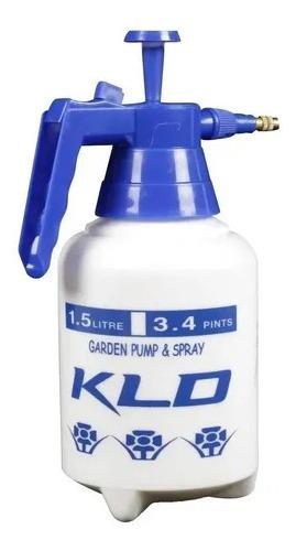 Pulverizador Fumigador Kld Manual A Presion 1,5l Con Gatillo