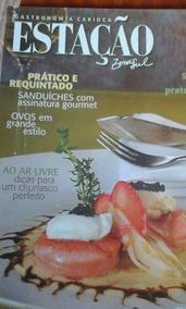 Revista Gastronomia Carioca Estação Zona Sul N44 2010