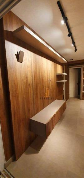 Flat Com 2 Dormitórios Para Alugar, 60 M² Por R$ 3.200,00/mês - Centro - São Bernardo Do Campo/sp - Fl0014