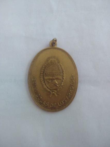 Medalla San Nicolas De Los Arroyos