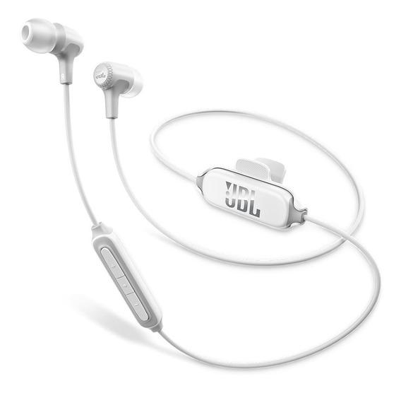Fone De Ouvido Jbl E25bt Bluetooth / Microfone - Branco