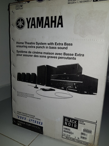 Home Theatre Yamaha Novo.