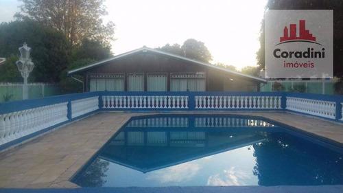 Chácara Residencial À Venda, Condomínio Chácara Grota Azul, Hortolândia. - Ch0047