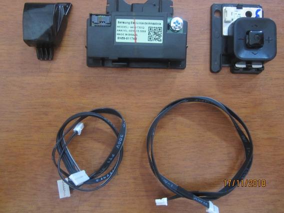 Sensor E Botão Power E Modulo Wi-fi Tv Samsung Un40mu6100g