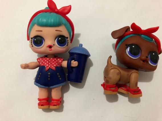 Boneca Lol Surprise + Pets Bb Bop Baby Aberta