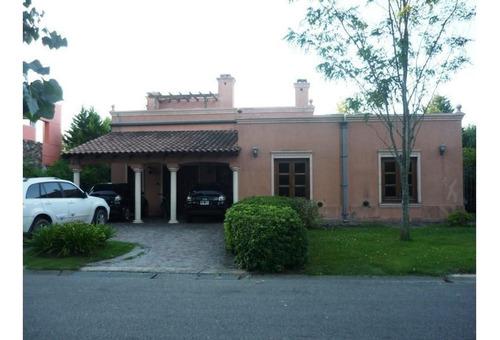 Imagen 1 de 21 de Muy Buena Casa En Venta En Barrio Privado Buen Retiro, Pilar