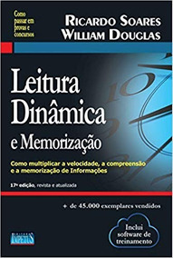 Livro De Leitura Dinâmica E Memorização - 17ª Edição