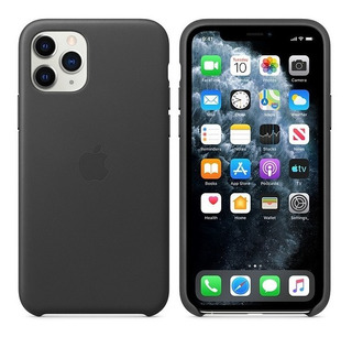 Funda Apple Leather Case iPhone 11 Pro Cuero