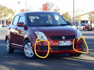 Suzuki Swift - Tapas Bumper Halogenos