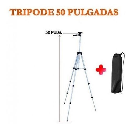 Trípode De Aluminio 50 PuLG. + Bulto