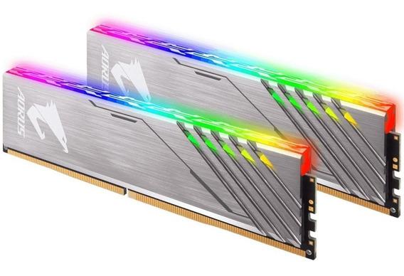 Memoria Ram Ddr4 16gb 3200 Mhz Rgb Gigabyte Aorus + Dummies