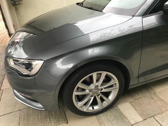 Audi A3 1.8 Turbo 180cv Sedan 4p Ambition Gas Cinza Met 2015