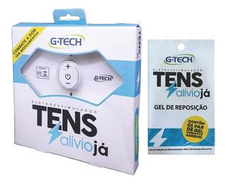 Kit Eletroestimulador Tens + Gel De Reposição Adicional