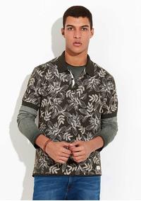 Camisa Polo Masc. Slim Em Malha De Algodão Hering - 3243m3n