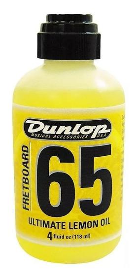 Óleo De Limão Dunlop F65 Para Escalas Violão Guitarra Baixo