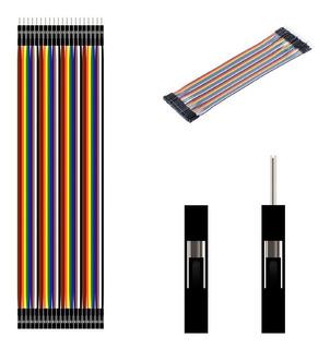 Cables Jumpers Dupont 120 Pzas (10 Cm) Proyectos Arduino