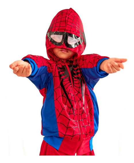 Pants Disfraz Spider Man Para Niño