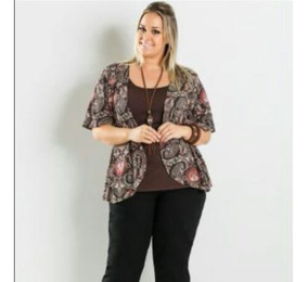 Blusa Plus Size /cardigan
