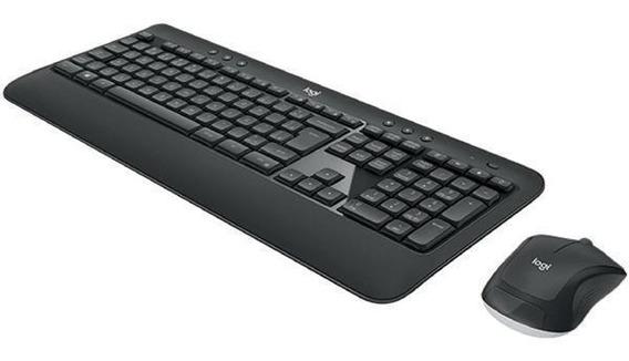 Combo Teclado E Mouse Sem Fio Mk540 - Logitech