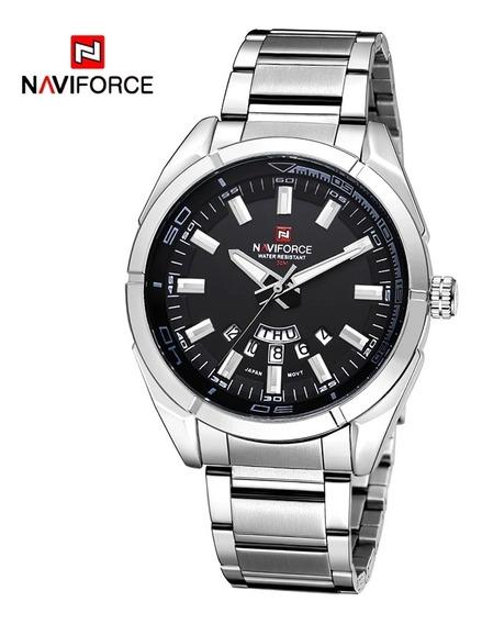Relógio De Luxo Marca Naviforce