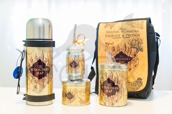 Set Matero Harry Potter Con Bolso - Equipo De Mate Completo