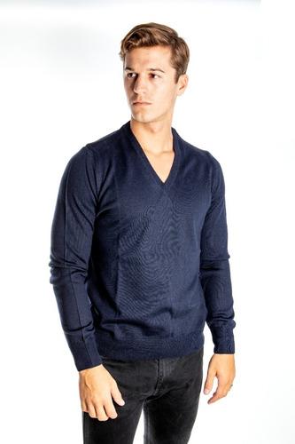 Imagen 1 de 2 de Sweater Pullover Lana Oferta Olegario Varios Colores