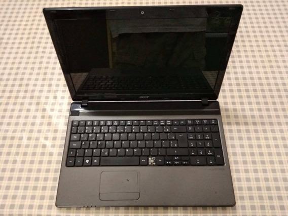 Notebook Acer Aspire 5750