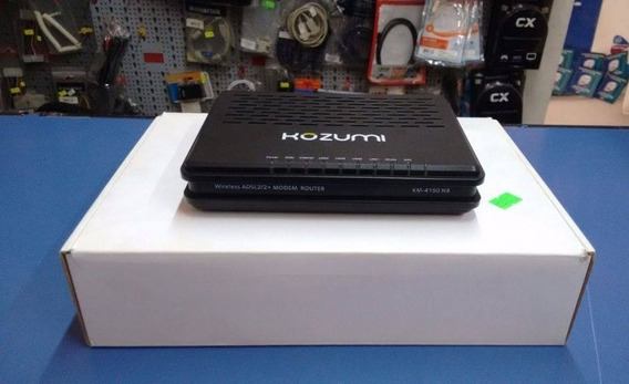 Modem Router Kozumi Wireless Adsl2/2+ Km-4150nr