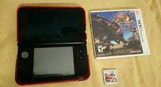 Nintendo 3ds Xl Con 2 Juegos Y Cargador