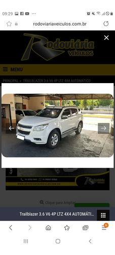 Chevrolet Trailblazer 2013 3.6 V6 Ltz 4x4 Aut. 5p
