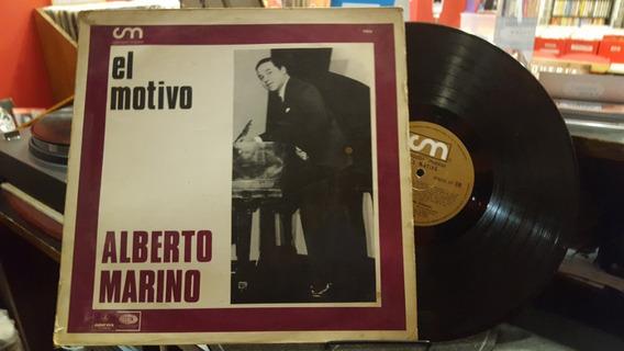 Alberto Marino El Motivo Lp Disco Vinilo Vg+