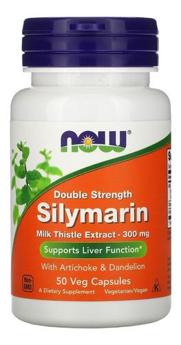 Imagem 1 de 2 de Silimarina Extrato Cardo-mariano  150mg 120 Cps Now Foods
