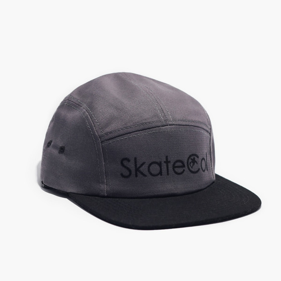 Gorra Five Panel Skatecol - Gris