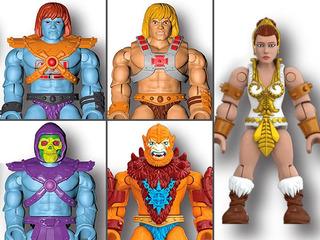 He-man Mega Construx Heroes Battle For Eternia Motu