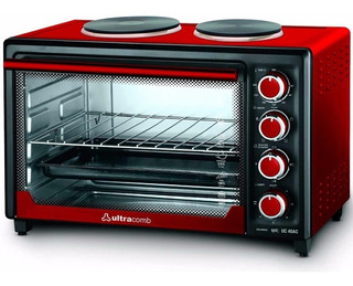 Horno Electrico Ultracomb Uc-40ac 2 Anafes 40lts 3200w