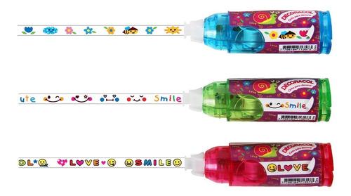 Cintas Decorativas Con Diseños Decoracol X 3 Simball
