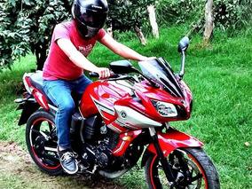 Yamaha Fazer 16 Roja Resien Pintada , Motor En Excelente
