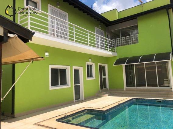 Casa Com 4 Dormitórios À Venda, 357 M² Por R$ 1.490.000,00 - Residencial Paineiras - Paulínia/sp - Ca0958