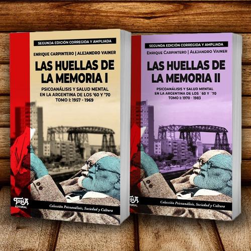 Las Huellas De La Memoria. Tomo 1 + Tomo 2 (2da Ed)
