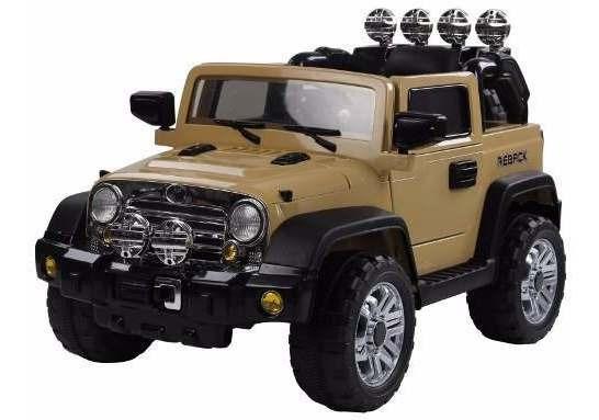 Mini Jipe Carro Eletrico Rali Caqui Trilha Infanfil 12v